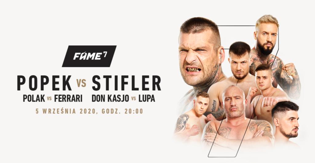 Fame MMA 7 Plakat